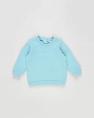 Cotton On Baby - Greer Emerson Quilted Tracksuit Babies Sweats (Blue Ice)