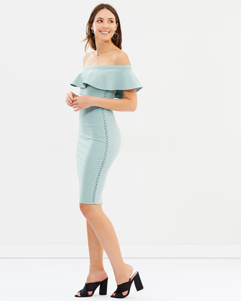 Fresh Soul Madrid Dress Bodycon Dresses Mint Madrid Dress