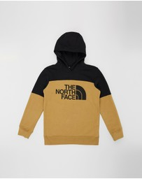 The North Face - B Metro Logo Pullover Hoodie -Kids-Teens