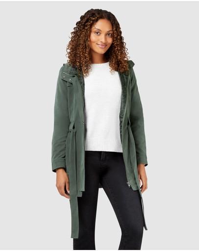 Jeanswest Jade Water Resistant Jacket Urban Chic