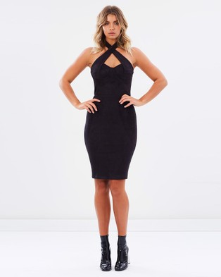 Ivory & Chain – Dalila Dress – Dresses (Black)
