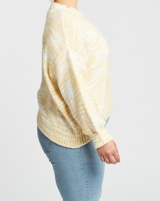 Cotton On Curve Jenny Knit - Jumpers & Cardigans (Raffia Ombre)