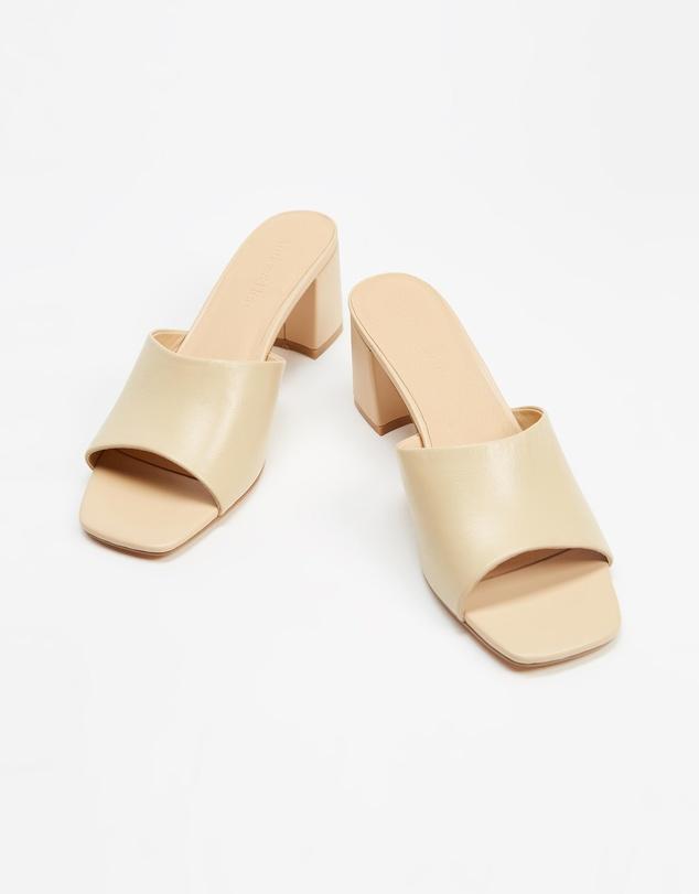 Women Tina Leather Heels