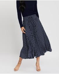 Sportscraft - Louvre Pleated Skirt