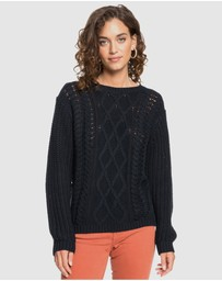 Roxy - Womens England Skies Knit Jumper