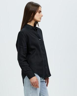 Assembly Label Xander Long Sleeve Shirt - Tops (Black)