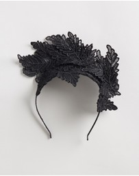 Olga Berg - Nadia Leaf Lace Fascinator