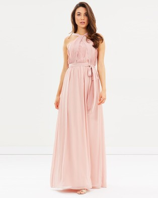 Esther – Aster Maxi Dress – Bridesmaid Dresses (Dark Blush )