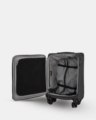Echolac Japan Serpentine Echolac Large Soft Side Case - Travel and Luggage (Grey Blue)