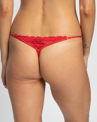 Bendon Thong Briefs - Thongs & G-Strings (Red)