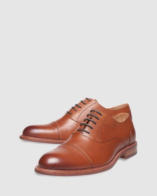 3 Wise Men The Gibbons - Dress Shoes (Tan)