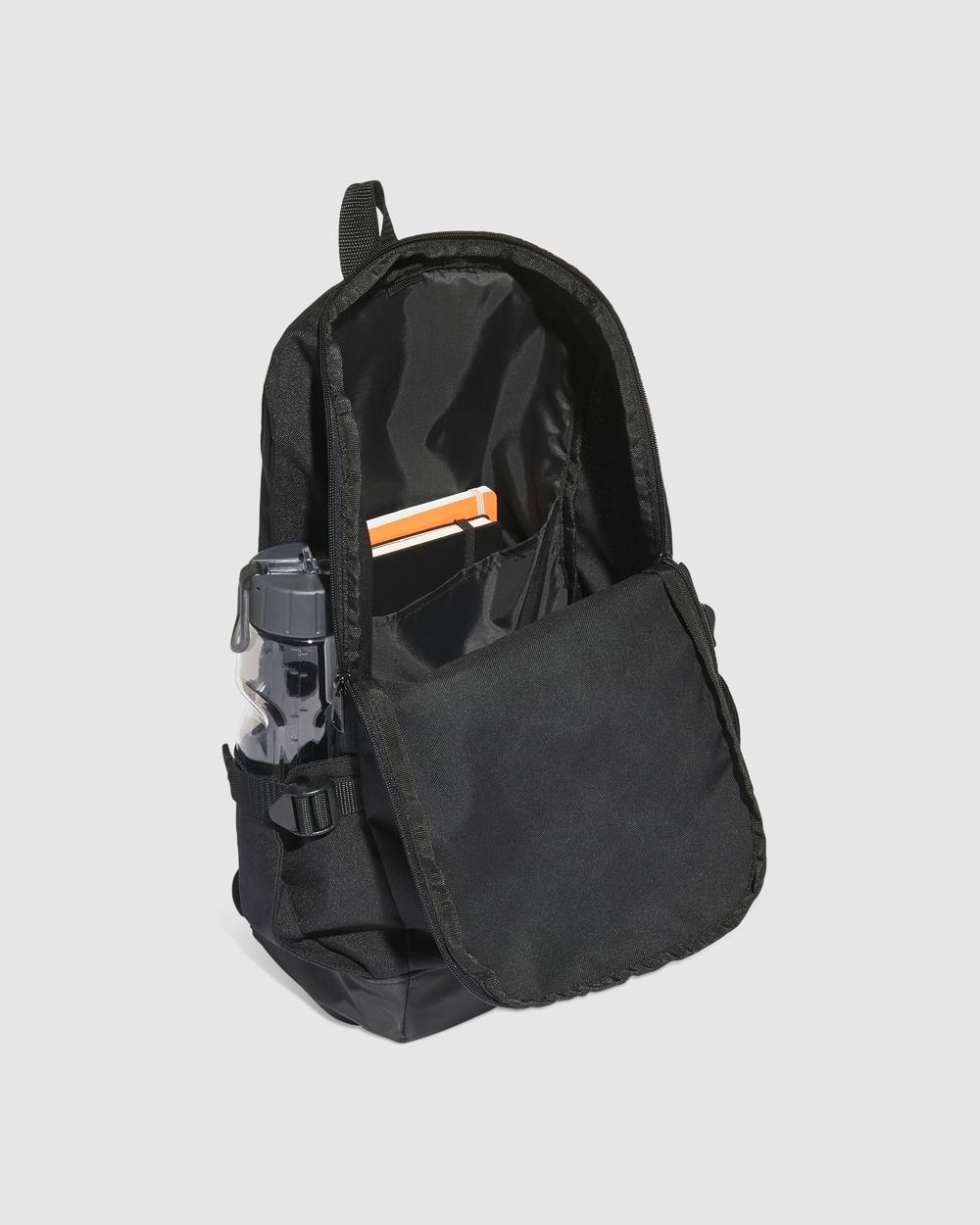 adidas Performance Essentials 3 Stripes Response Backpack Backpacks Black 3-Stripes