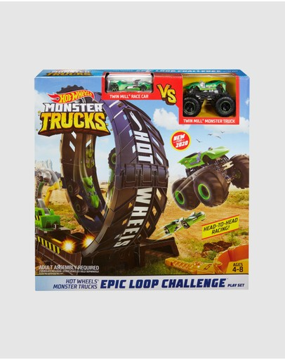 Hot Wheels - Monster Trucks Monster Loop Playset