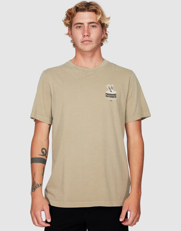 RVCA - Paradise Records Short Sleeve Tee