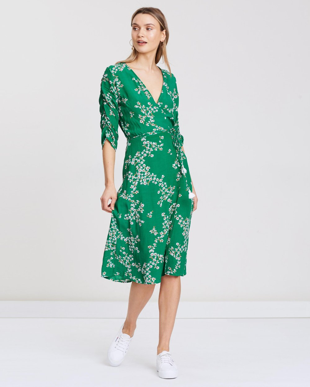 c737a02afade Anne Marie Midi Dress by Faithfull Online | THE ICONIC | Australia
