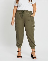 Atmos&Here Curvy - Carrie Cargo Pants