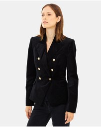 CAMILLA AND MARC - Velvet Dimmer Blazer