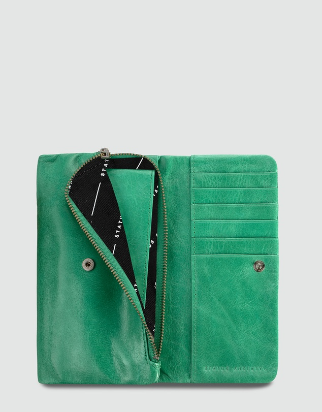Status Anxiety - Audrey - Emerald Wallet