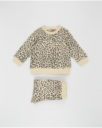 Cotton On Baby - Billie Fleece Set - Babies