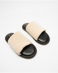 Proenza Schouler - Pipe Knit Slides