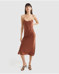 SABA - Freya Silk Slip Dress