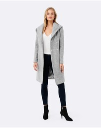 Forever New - Hanna Textured Coat