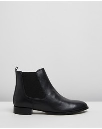 Atmos&Here - Riely Leather Ankle Boots