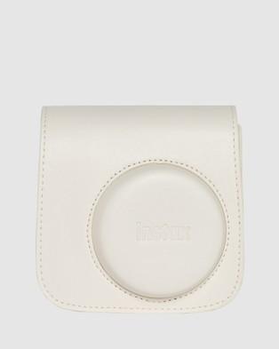 Fujifilm Instax Mini 11 Camera Case - Tech Accessories (White)