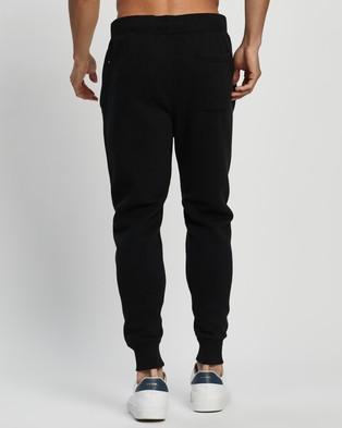 Abercrombie & Fitch Applique Logo Sweatpants - Sweatpants (Black)