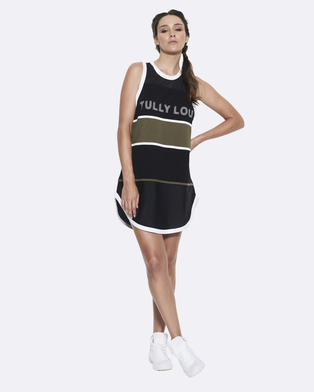 Tully Lou 76er's Dress Dresses Army 76er's Dress