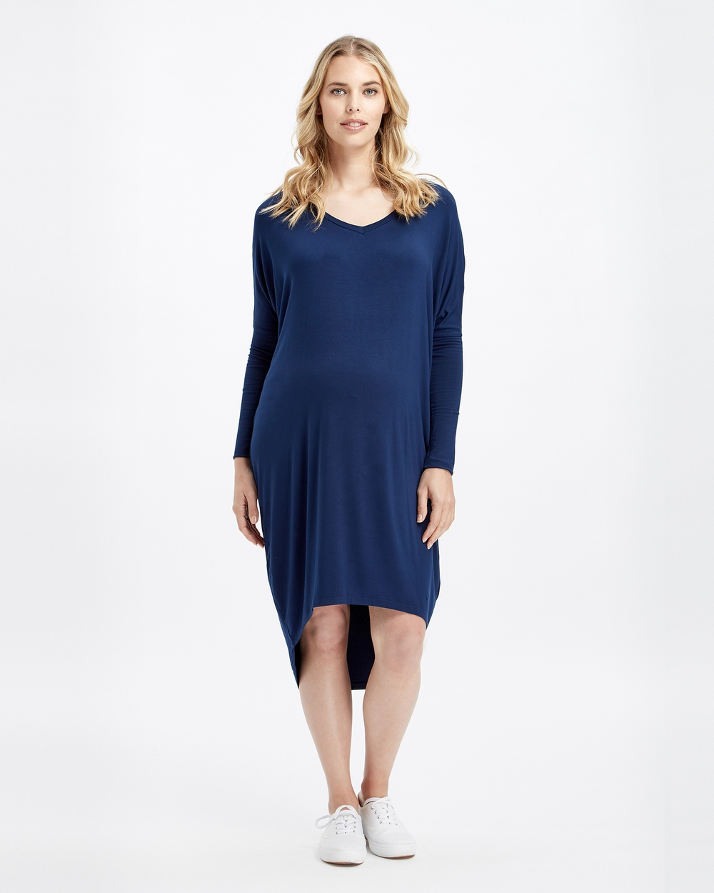 Bamboo Body Catherine Bamboo Dress Dresses Navy Catherine Bamboo Dress