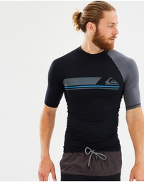 Quiksilver - Active - Short Sleeve Rash Vest