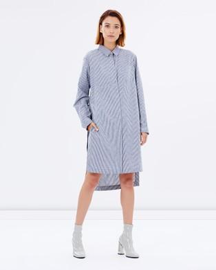 Gary Bigeni – Anders Dress – Dresses (Blue)