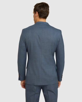 Oxford New Hopkins Wool Suit Set - Suits & Blazers (Blue)