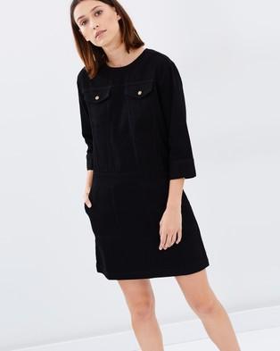 Warehouse – Denim Pocket Shirt Dress