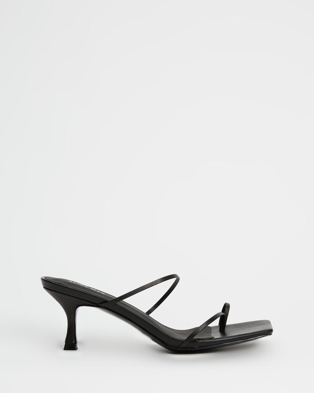 Alias Mae Bay Sandals Black Leather