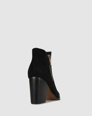 Betts - Layla Block Heeled Boots Heels (Black)
