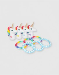 Sunnylife - Inflatable Unicorn Ring Toss Set