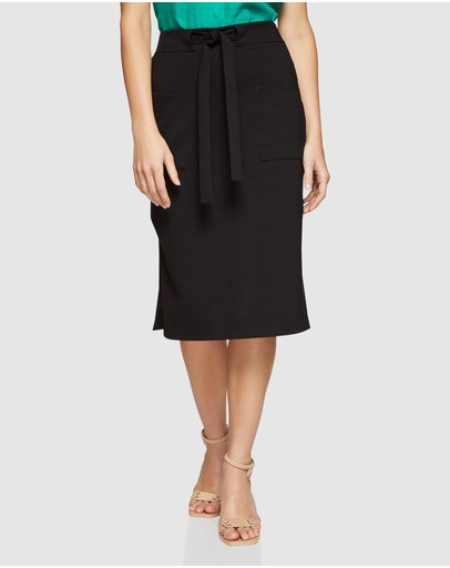Oxford Morris Ponti Skirt Black