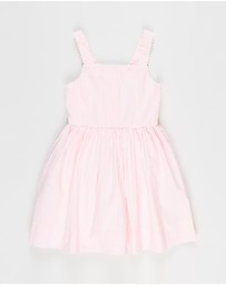 Polo Ralph Lauren - Woven Seersucker Dress - Kids