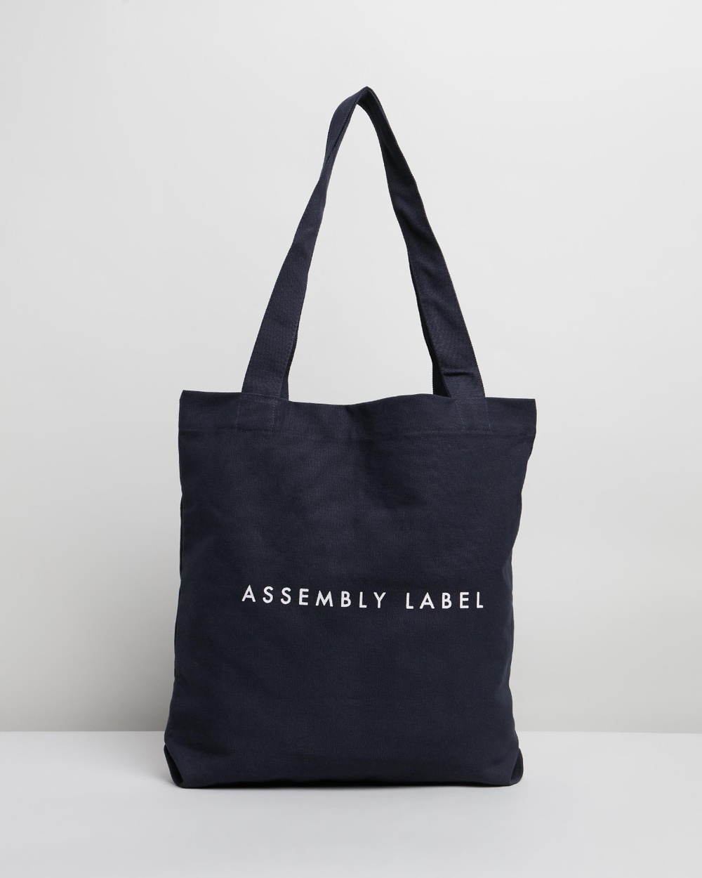 Assembly Label Logo Tote Bag Bags True Navy