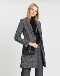 David Lawrence - Prince Of Wales Check Coat