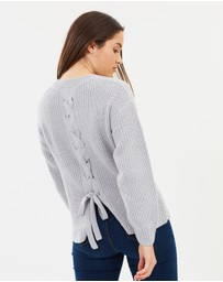 Dorothy Perkins - Lace-Up Jumper