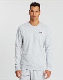 Reebok - Small Vector Crew Sweatshirt