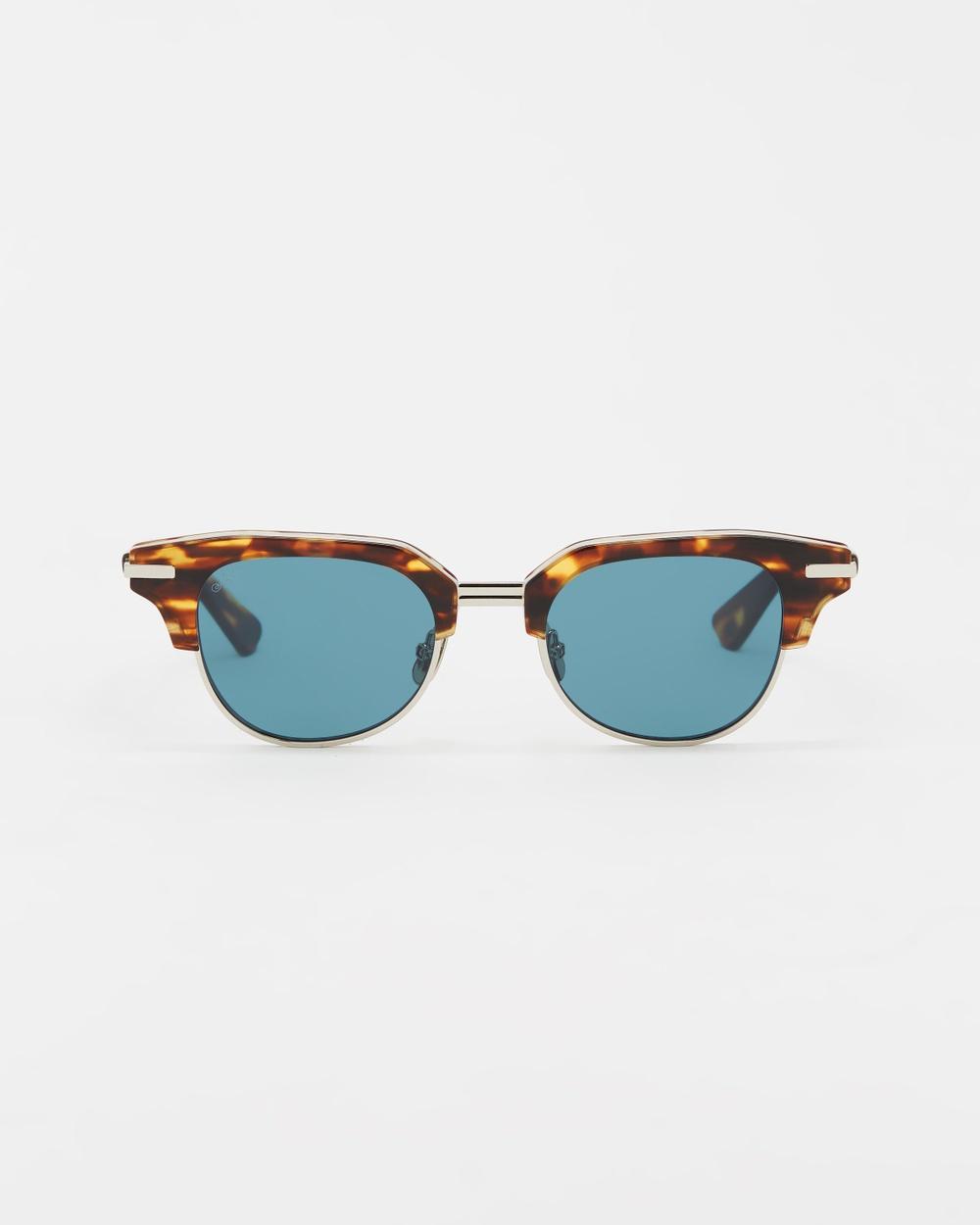 AKILA M.Y.C Sunglasses Tortoise, Viridian & Silver