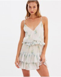 Stevie May - Nostalgia Ruffle Mini Dress
