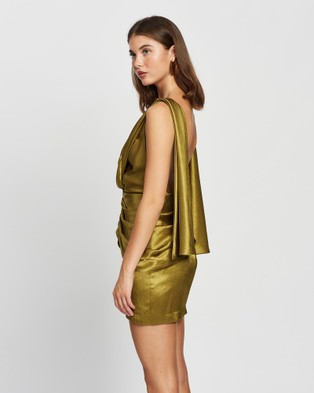 DERMA Zara Mini Dress Dresses Olive