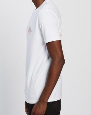 Rusty Salvador Short Sleeve Tee - T-Shirts & Singlets ( White)