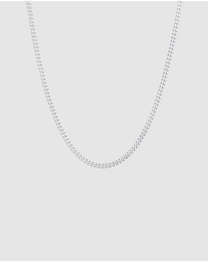 Kuzzoi Necklace Chain Basic Trend In 925 Sterling Silver