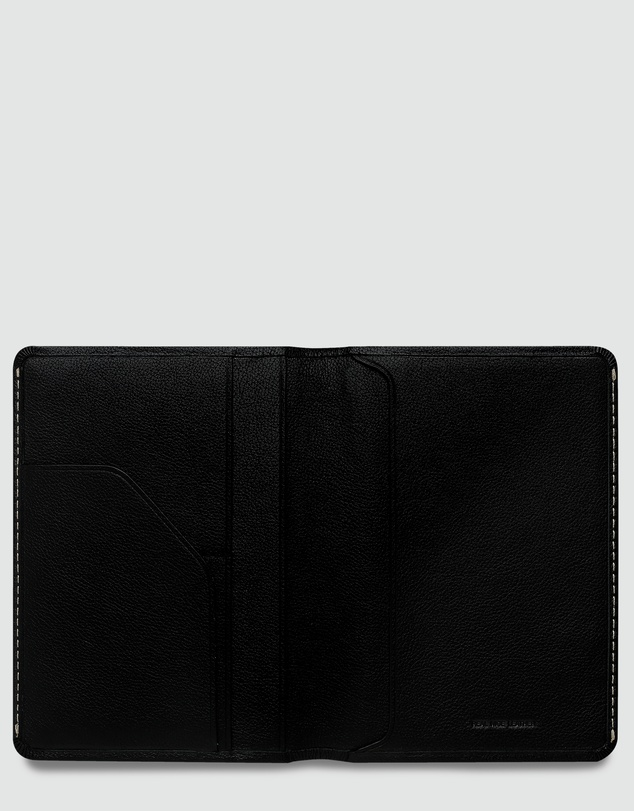Status Anxiety - Conquest - Black Travel Wallet
